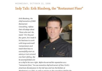 Master Chef Erik Blauberg Featured in National Restaurant News