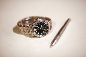 A watch and Fisher Space pen Ramsay de Give for The Wall Street Journal